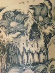skull tattoo just teejay u0027s blog