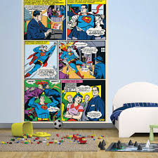 1 wall easy hang wallpaper mural superman dc comic panel 1 58m x 1 wall easy hang wallpaper mural superman dc comic panel 1 58m x 2 32m