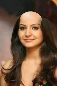 very beautiful headshave girls hair lovers march 2015