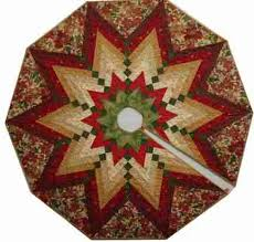 quilting with margaret braid tree skirt class just added