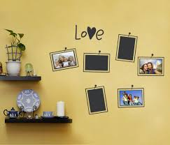 photo love wall decal photo frames photo frames love wall decal