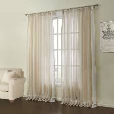 Modern Pattern Curtains Curtains Sheer Curtains One Panel Modern Jacquard Beige