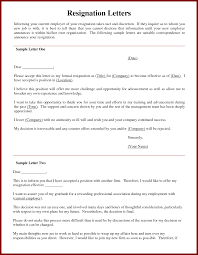 9 sample resignation letter for nurse sendletters info