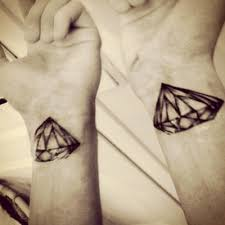 diamond wrist black jewel tattoo body art pinterest jewel tattoo