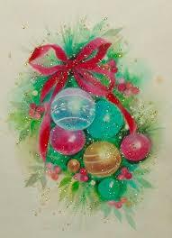 136 best ornaments vintage cards images on