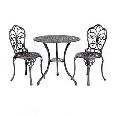 Kirklands Patio Furniture Fleur De Lis Cast Iron Bistro Set Bistro Set Cast Iron And Iron