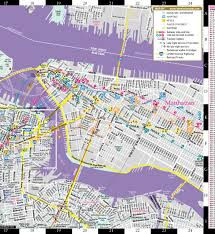 Queens Ny Map Streetwise Brooklyn Map Laminated City Center Street Map Of