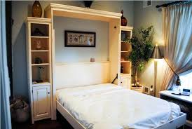 king size murphy bed and table u2013 glamorous bedroom design
