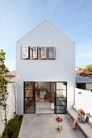 a major renovation for a house on a narrow lot house