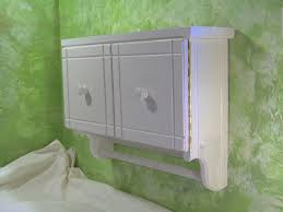 Vintage Bathroom Storage Ideas Colors Vintage White Painted Mahogany Wood Wall Cabinet Mixed Green Scale