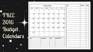 free printable planner calendar 2016 budget calendars printable daway dabrowa co