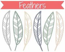 turkey feathers outlines clipart clip art library