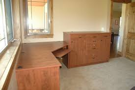 Home Office Corner Desk by Home Office Closets Plus
