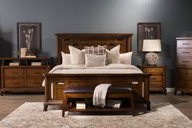 Broyhill Bedroom Furniture Broyhill Estes Park Panel Bed Mathis Brothers Furniture