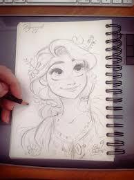 25 unique rapunzel sketch ideas on pinterest drawing face