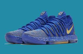 nike kd 10 celebration racer blue metallic gold for sale nike