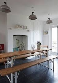 German Beer Garden Table by Rustic Industrial Dining Table Foter