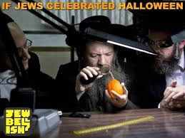 jewish humor central if halloween were a jewish holiday