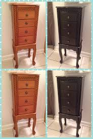 jewelry armoire redo with general finishes java gel stain easy to