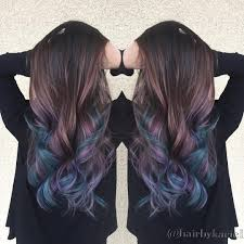 oil slick hair color thirdimensionsalon joico showoffcolor
