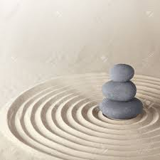 pierre pour jardin zen japonais pierre méditation zen jardin de sable concentration et de