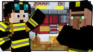Stampy Adventure Maps Minecraft The Firefighter Mission Custom Mod Adventure Youtube