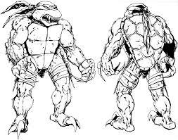 raphael ninja turtle coloring pages