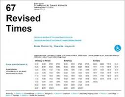 Dublin Bus 11 Timetable by James Lawless Td New Dublin Bus Times For Celbridge And Maynooth
