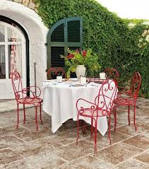 Metal Patio Chair Outdoor Adirondack Patio Chairs And Small Table Choosing Tips