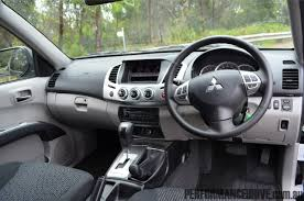 2012 mitsubishi triton glxr review u2013 quick spin performancedrive