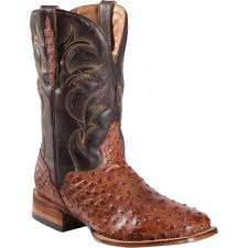 s quantum boots dorado s quill ostrich stockman boots square toe brown
