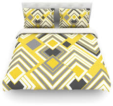 Yellow Duvet Cover King Jacqueline Milton