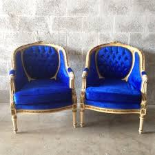 Blue Velvet Accent Chair Great Attractive Blue Velvet Accent Chair Residence Decor
