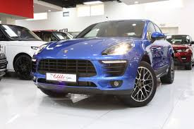 Porsche Macan Blue - porsche macan 2018 the elite cars for brand new and pre owned