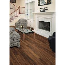 Laminate Flooring At Lowes Shop Style Selections 4 96 In W X 4 23 Ft L Orchard Plum Smooth