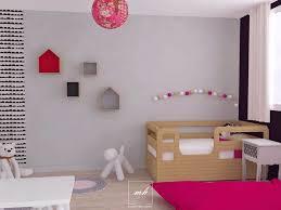 amenagement chambre fille exemple peinture chambre bebe fille