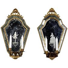 lighting mirrored wall sconces sconce light bedroom wall sconce