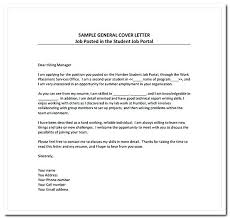 general cover letter write a cover letter for general resume cover letter template