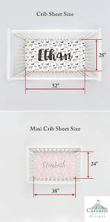Mini Crib Sheet Tutorial Baby Crib Size Standard And Mini How Are They Different Carousel 6