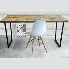 Reclaimed Wood Desk Desk Pipefitting Desk Reclaimed Wood Desk By Lumberjuan On Etsy