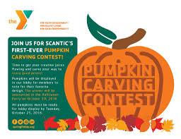scantic valley ymca u2013 pumpkin carving contestymca