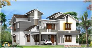 opulent design ideas modern house plans kerala 8 contemporary