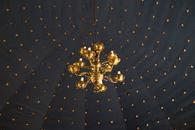 thingeyrarkirkja ceiling with gold stars naturetime