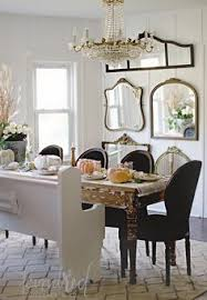 Modern Mirrors For Dining Room by Blue And White Dining Room With Coastal Flair Http Www