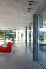 glass u0026 concrete pool house by lieven dejaeghere daily icon