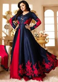 gown style dresses banglory silk style dress at rs 1245 salwar suit