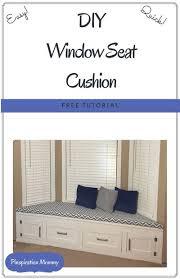 bay window seat cushions no sew bay window seat cushion i m wondering if this is something i