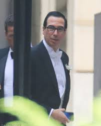 Who Is A Professional Secretary Steven Mnuchin Marries Fiancee In Dc Ceremony Daily Mail Online