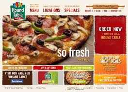 Round Table Pizza Jackson Ca 17 Best Restaurant Web Design Images On Pinterest Design Web