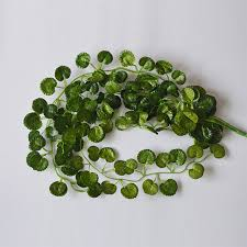 1set artificial plant leaves vine garland creeper green leaf style